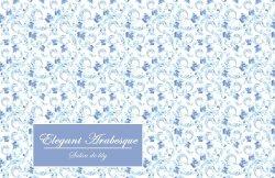 画像2:  Elegant Arabesque  -ロイヤルブルー-