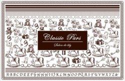 画像2: Classic Paris - ブラウン -
