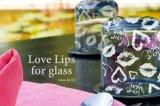 【ガラス用】Love Lips -ホワイト-